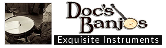 visit Doc's Banjos website